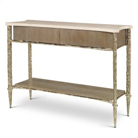 Chiseled Console Table