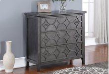 LUCIA 3 DRAWER CHEST-SLATE