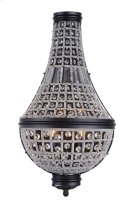 1209 Stella Collection Wall Sconce W:13.5in H:26in Ext: 6.5in Lt:3 Dark Bronze Finish Royal Cut Crystal (Clear) Product Image