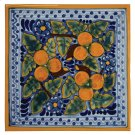 "4"" Peaches Decorative Talavera Tiles Product Image"