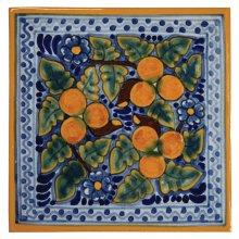 "4"" Peaches Decorative Talavera Tiles"