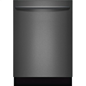 "Bosch800 Series 24"" Bar Handle Dishwasher, SHXM78W54N, Black Stainless Steel"
