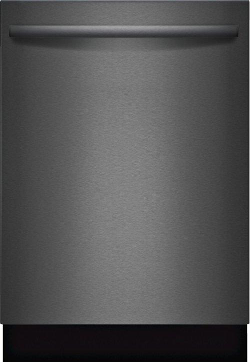 "800 Series 24"" Bar Handle Dishwasher, SHXM78W54N, Black Stainless Steel"