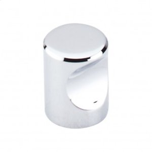 Nouveau Indent Knob 3/4 Inch - Polished Chrome