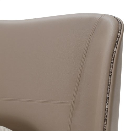 Queen Upholstery Wing Bed