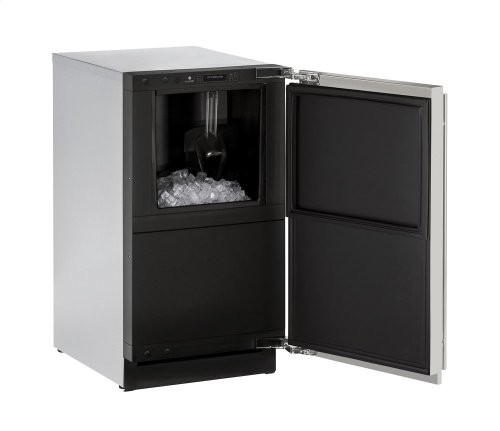 Modular 3000 Series With Stainless Solid Finish and Field Reversible Door Swing, Pump Included (115 Volts / 60 Hz)