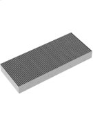 1 activated charcoal filter with high efficient odor reduction due to increased surface. For air recirculation module AA 210 812. Product Image