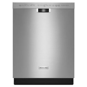 KitchenAid® 46 dBA Dishwasher with ProScrub™ Option - Stainless Steel
