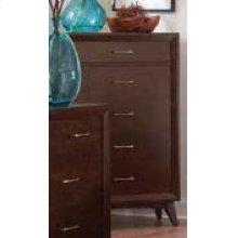 Carrington Mid-century Modern Five-drawer Chest