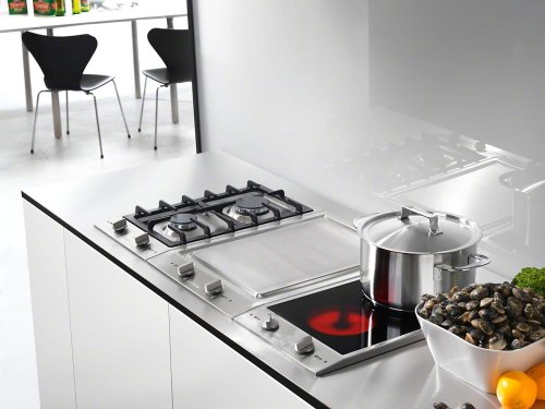 CS 1112 E 208V CombiSets with two electric cooking zones
