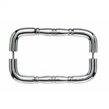 Nouveau Ring Door Pull Back to Back 8 Inch (c-c) - Polished Chrome