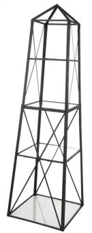 Square Etagere,Metal/Glass Product Image
