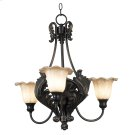 Cromwell - 3 Light Up Chandelier Product Image