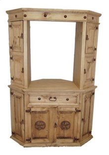 Hutch for Corner TV Stand