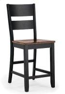 Ladder Back Stool (ebony) Product Image