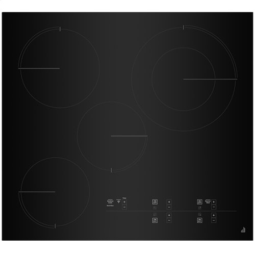 """Oblivian Glass 24"""" Electric Radiant Cooktop with Glass-Touch Electronic Controls"""