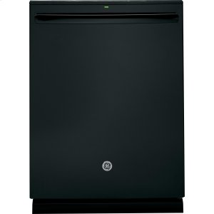 ®Stainless Steel Interior Dishwasher with Hidden Controls - BLACK