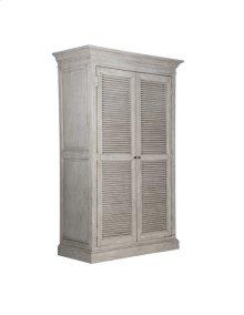 2 Drawer Wardrobe -weathered Oak Finish