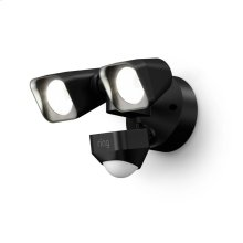 Smart Lighting Floodlight Wired - Black: Ships 5/15
