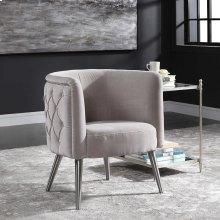 Haider Accent Chair, Champagne