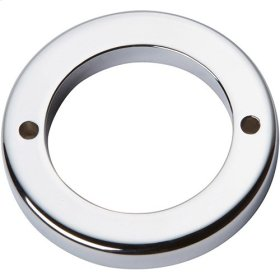 Tableau Round Base 1 7/8 Inch - Polished Chrome
