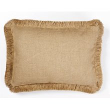 Plain Burlap Pillow