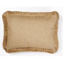 Plain Burlap Pillow