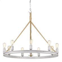Chatham 9 Light Chandelier in Gray Driftwood