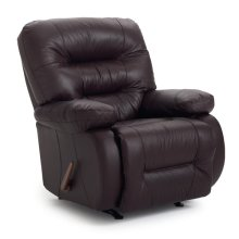 MADDOX Leather/Vinyl Rocker Recliner