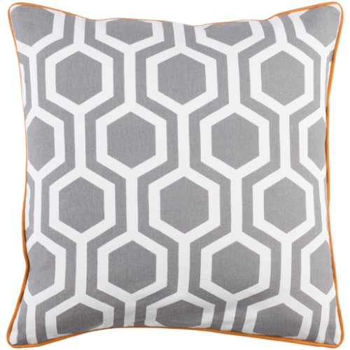 "Inga INGA-7008 18"" x 18"" Pillow Shell with Down Insert"