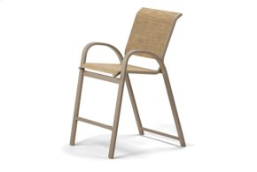 Balcony Height Stacking Cafe Chair