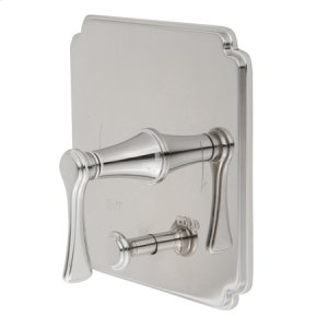 Oil Rubbed Bronze Balanced Pressure Tub & Shower Diverter Plate with Handle. Less Showerhead, arm and flange.