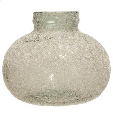 Rime Ice Clear  Recyled Spanish Glass Vase Accessory