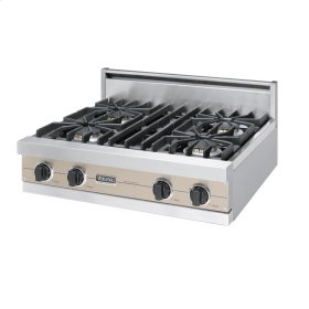 "Taupe 30"" Sealed Burner Rangetop - VGRT (30"" Wide, four burner)"
