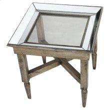 Jordan Mirrored Side Table