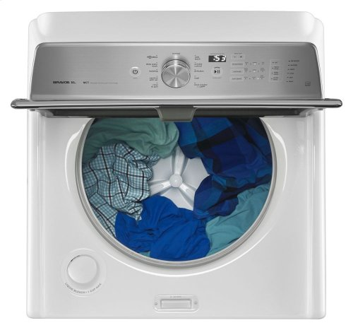 RED HOT BUY-BE HAPPY! Extra-Large Capacity Washer with Deep Clean Option- 5.3 Cu. Ft.
