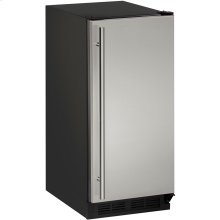 "CLR1215 Clear Ice Maker 15"",With Pump,Reversible Door Hinge"