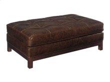 Westin Leather Ottoman