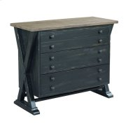 Trestle Drawer Cabinet Product Image