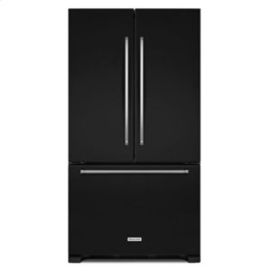 KITCHENAID20 cu. ft. 36-Inch Width Counter-Depth French Door Refrigerator with Interior Dispense - Black