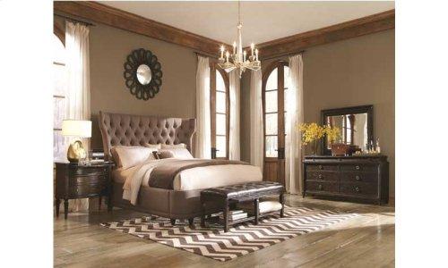 Classics King Upholstered Platform Bed