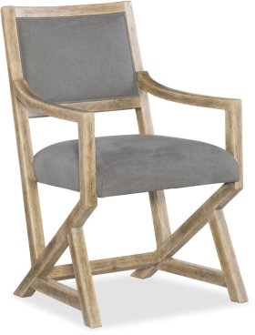 Urban Elevation Upholstered Arm Chair