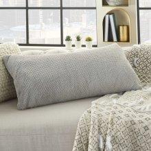 "Fur Vv021 Lt Grey 1'2"" X 2'6"" Throw Pillows"