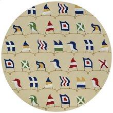 Nautical Flags - Sand 6852/6486