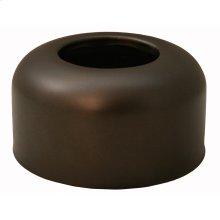 """Oil Rubbed Bronze Escutcheon 1-1/2"""" Tubular Box Pattern 3"""" OD"""