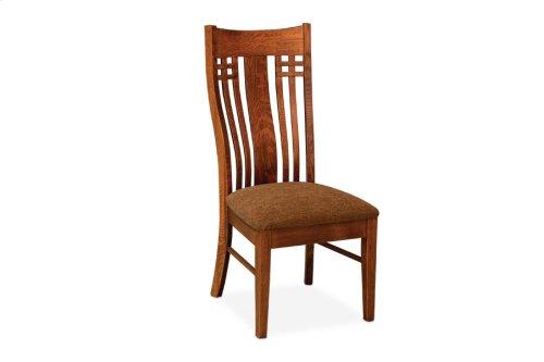 Bradley Side Chair, Fabric Seat