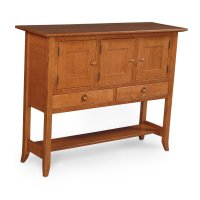 Shaker Hill Open Sideboard Product Image