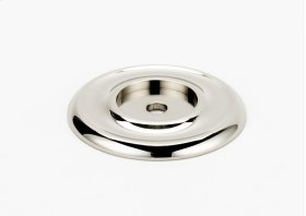 Traditional Backplate A615-14 - Polished Nickel