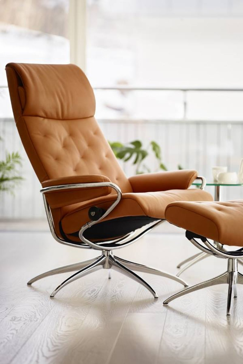 Stressless Metro Chair High Back Std Base In By Stressless By
