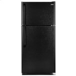 18.1-Cu.-Ft. Top Mount Refrigerator - black